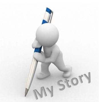 Saya ingin bina cerita sendiri